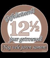Huldeschild - Special - 12,5 jaar getrouwd