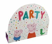 Amscan uitnodigingen met envelop Peppa Pig 8 stuks