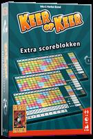 999 Games Keer op Keer Scoreblok 3 stuks Level 1 - Dobbelspel