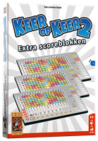 999 Games Keer op Keer 2 Scoreblok 3 stuks Level 1 - Dobbelspel