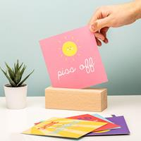 Fizz Positive Vibes Quotes Display -