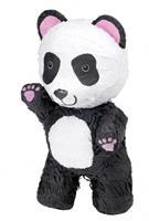 Amscan piñata Panda junior 42 cm papier wit/zwart