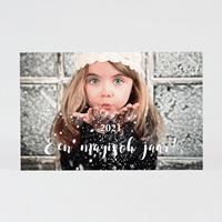 tadaaz Nieuwjaarskaart met foto en sterretjes
