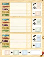 999games Scoreblokken Samoa drie stuks - Kaartspel