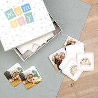 Wanapix Memory spel met fotos bedrukken (48 vierkante kaartjes)