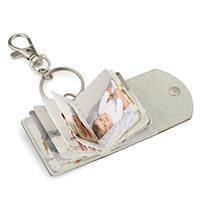 Wanapix Sleutelhanger met Mini Fotoboekje 3,9 x 3,8 cm