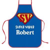 Wanapix Keukenschort Super Vader met foto en tekst bedrukken