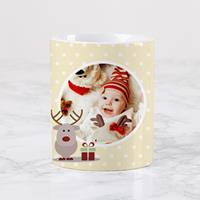 Wanapix Keramische Kerst Mok Baby Christmas met foto en tekst bedrukken