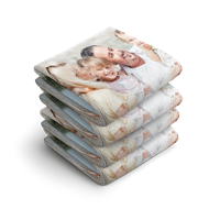 YourSurprise Handdoek volledig bedrukken - 30x50 - 4 stuks