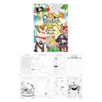 Uitdeelcadeautjes - Puzzelboeken - Model: Piraten (48 Stuks)
