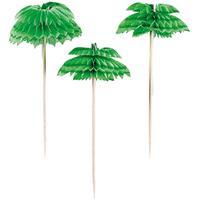 Amscan Cocktailprikkers Palmboom 10,1 Cm