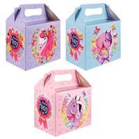 Merkloos 12 Stuks Uitdeeldoosjes Voor Kinderfeestje, Model: Pony - Paard