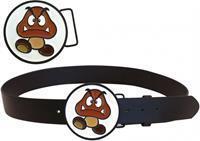Bioworld Nintendo - Goomba Buckle with Belt