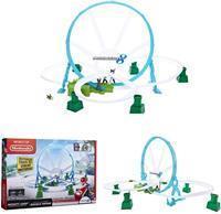 Jakks Pacific Nintendo Circuit looping Deluxe + Yoshi vehicle