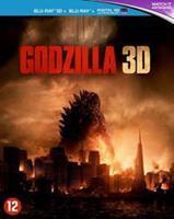 Warner Bros Godzilla (3D) (Blu-ray)