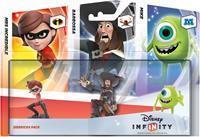 Disney Interactive Disney Infinity Triple Pack Sidekicks (Mike / Mrs Incredible / Barbossa)
