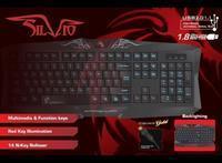 Dragon War Silvio Gaming Keyboard (azerty)