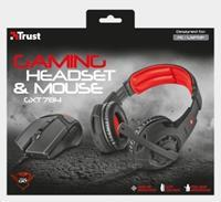 Trust GXT784 Gaming Headset & Mouse