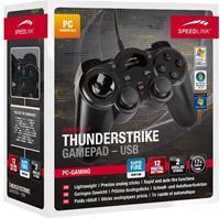 Speedlink Thunderstrike USB Gamepad (Zwart)