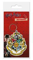 Pyramid International Harry Potter Rubber Keychain Hogwart's Crest 6 cm