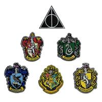 Cinereplicas Harry Potter Patches 6-Pack House Crests