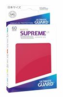 Ultimate Guard Supreme UX Sleeves Japanese Size Matte Red (60)
