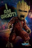 Pyramid International Guardians of the Galaxy Vol. 2 Poster Pack Angry Groot 61 x 91 cm (5)