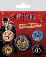 Pyramid International Harry Potter Pin Badges 5-Pack Hogwarts