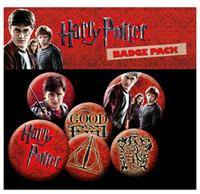 GYE Harry Potter Pin Badges 6-Pack Icons