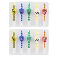 Cinereplicas Harry Potter Birthday Candle 10-Pack Logos