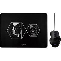 LogiLink ID0162 USB game-muis Optisch Zwart