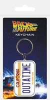 Pyramid International Back to the Future Rubber Keychain License Plate 6 cm