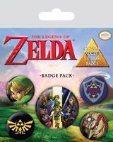 Pyramid International The Legend of Zelda Pin Badges 5-Pack Link