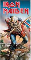KKL Iron Maiden Towel Trooper 150 x 75 cm