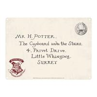 Half Moon Bay Harry Potter Tin Sign Letters 21 x 15 cm