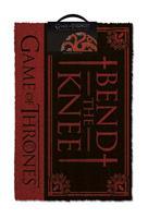 Pyramid International Game of Thrones Doormat Bend the Knee 40 x 57 cm