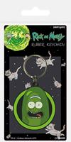 Pyramid International Rick and Morty Rubber Keychain Pickle Rick 6 cm