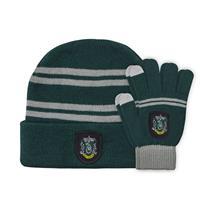 Cinereplicas Harry Potter Beanie & Gloves Set for Kids Slytherin