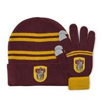 Cinereplicas Harry Potter Beanie & Gloves Set for Kids Gryffindor