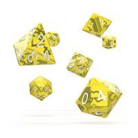 Oakie Doakie Dice RPG Set Translucent - Yellow (7)