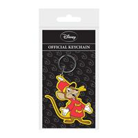 Pyramid International Dumbo Rubber Keychain Timothy Q Mouse 6 cm