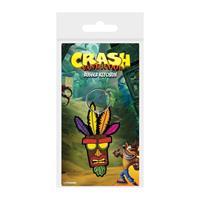 Pyramid International Crash Bandicoot Rubber Keychain Aku Aku 6 cm