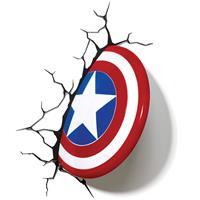 3Dlight Marvel 3D LED Light Captain America Shield