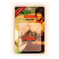 FaNaTtik Rambo Pin Badge Rambo