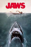 GB eye Jaws Key Art Poster 61x91,5cm