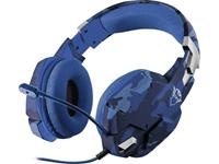 trust GXT322B Carus Gaming Headset (Blue Camouflage)