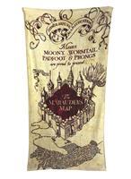 Groovy Harry Potter Towel Marauder's Map 150 x 75 cm
