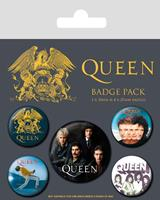 Pyramid International Queen Pin Badges 5-Pack Classic