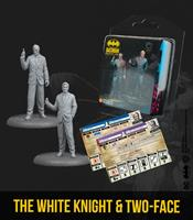 Knight Models Batman Miniature Game Miniatures The White Knight & Two-Face *English Version*