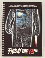 SD Toys Friday the 13th Notebook Movie Poster